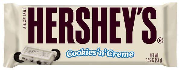 Chocolate Blanco con Trozos de Galleta Envase 43 gr de Hershey's